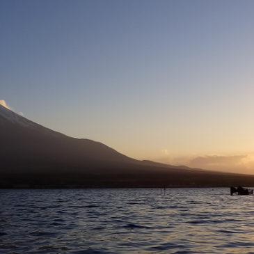GW山中湖で午後からバス探しの釣り?